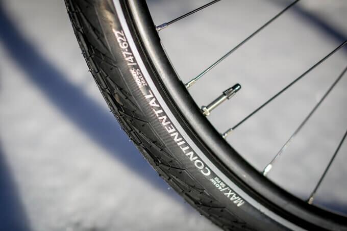 e-bike Ausrüstung Reifen und Antrieb