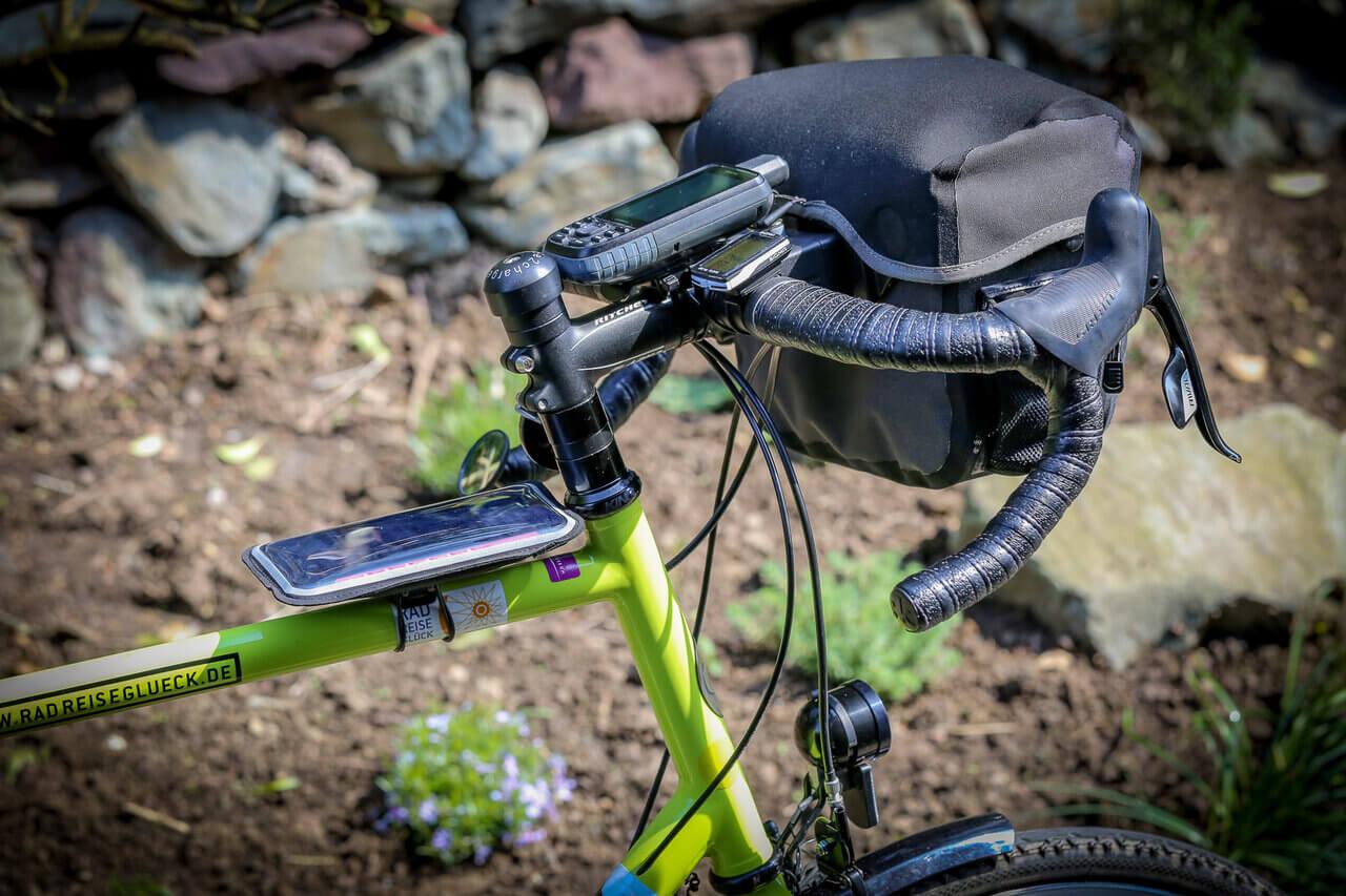 Shapeheart Halterung am Fahrrad Oberrohr